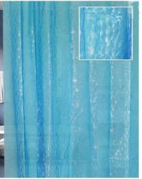 Light blue, Shower curtains and 3d on Pinterest