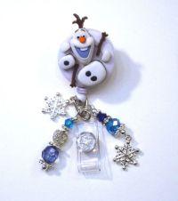 Olaf In Parts Frozen Disney Retractable Reel ID Badge ...