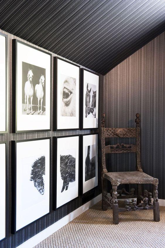 Vintage-African-Chair-Sonoma-Residence-Antonio-Martins-Interior-Design: