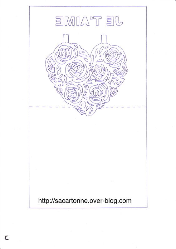 Coeur d'alene, Kirigami and Roses on Pinterest