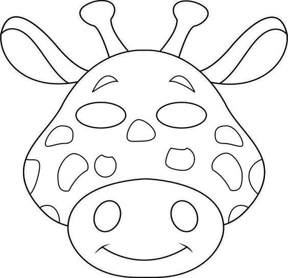 Masks, Animal masks and Safari animals on Pinterest