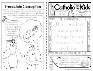 The Catholic Toolbox: FREE Children's Worship Bulletins