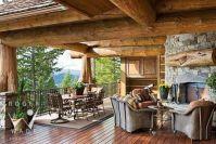 corner fireplace designs | Rustic Lodge Style | Pinterest ...