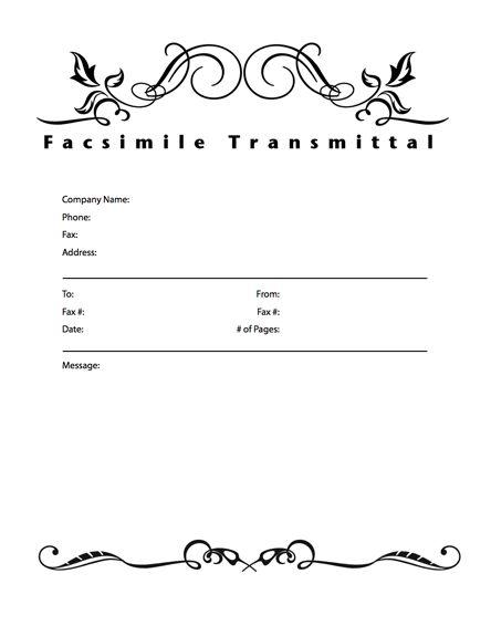 Medical hipaa fax cover sheet facsimile cover