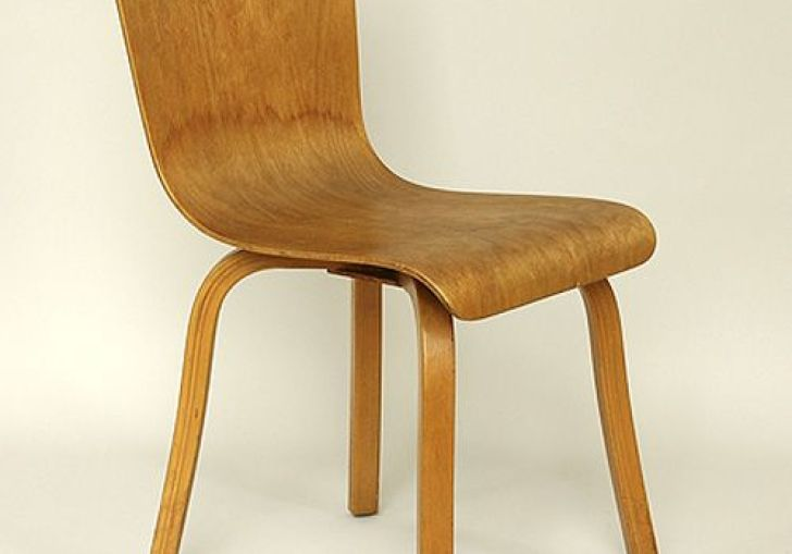 Bent Plywood Dining Chair
