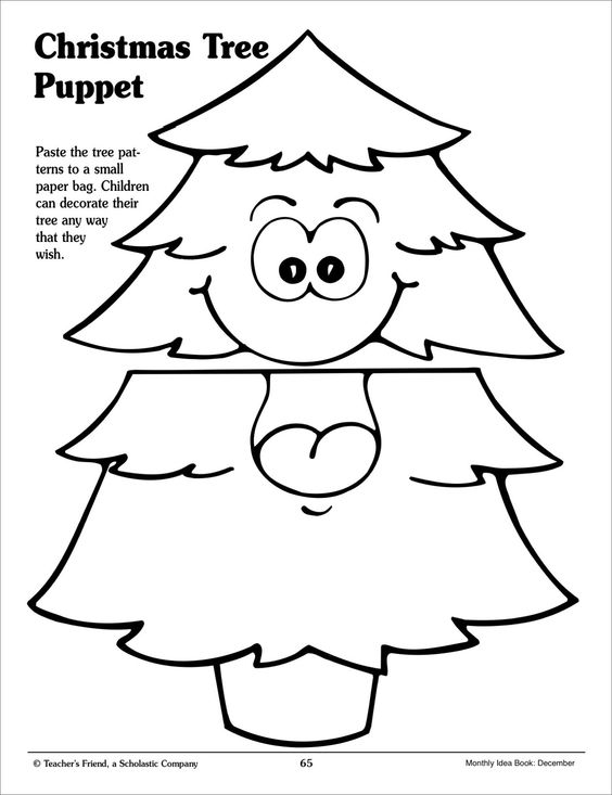 Paper templates, Christmas paper and Puppets on Pinterest