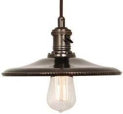 HOME DECORATORS COLLECTION 1‑Light Saucer Pendant From Home Depot