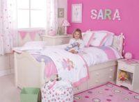 Easy and Stylish Girls Bedroom Ideas : Pretty Girls ...