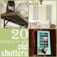 Old shutters, Shutters and Earth day on Pinterest