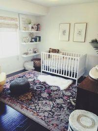 Bohemian nursery, Nurseries and Bohemian on Pinterest