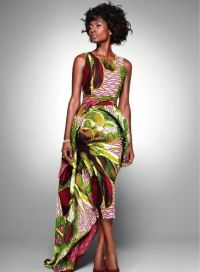 Evening gowns, Africans and Bridal dresses on Pinterest