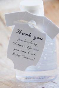Hand Sanitizer Baby Shower Gift Tags ~ Thank you for ...