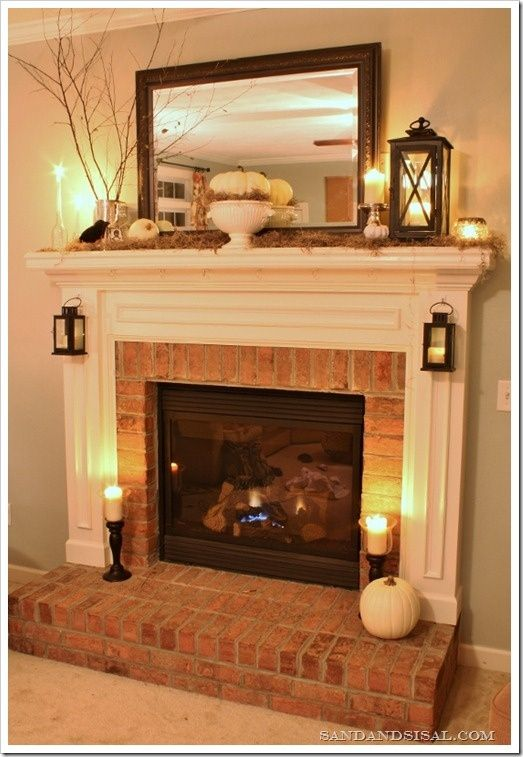 Fireplace Decoration With Edcdeacbbee Fireplace Design Fireplace Mantles, The Mantle And Dress Up On Pinterest