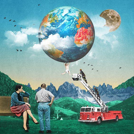 Luke Robson Digital Collage Art Love this guy39s work