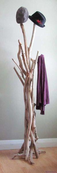 Roost Driftwood Coat Rack