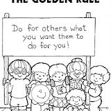 The Golden Rule Coloring Pages Coloring Pages