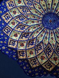 Handmade Hand painted Traditional Persian Wall hanging ...