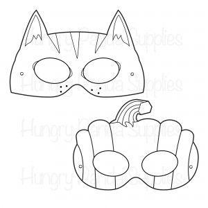 FREEBIE OF THE WEEK! Halloween Printable Coloring Masks