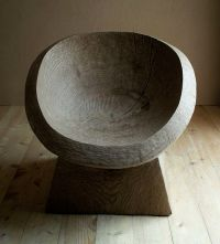 tree stump chair | Design | Pinterest | Trd och Stolar