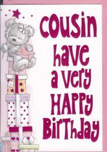 Cousin Have A Very Happy Birthday Happy Birthday