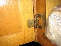 Replace Cabinet Hinges | Cabinets