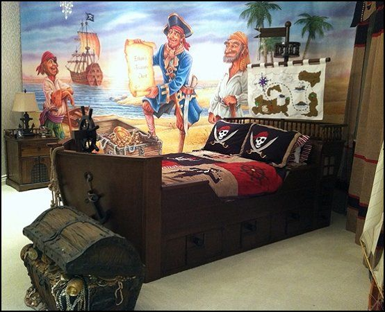 Learn how to design and decorate a bedroom with style, and where to spend—and not to spend—your money on decor. I'd put Cptn. Jack Sparrow...Nautical Furniture