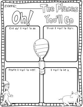 Going Places! Dr. Seuss Inspired Literacy & Math