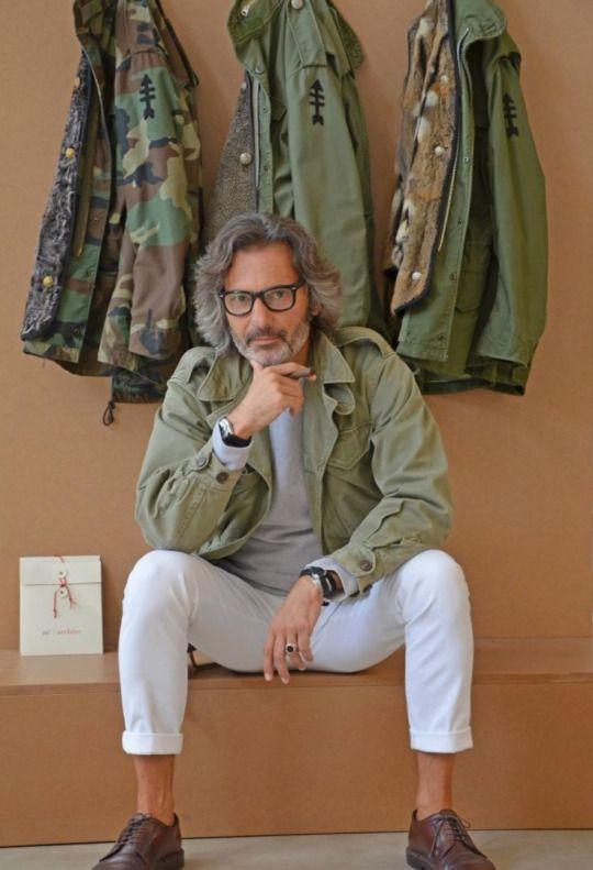 Green Camo & Fatigue Style Jackets, via Sharperman, Men's Spring Summer Fashion,: