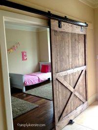 Sliding doors, Barn doors and Hardware on Pinterest