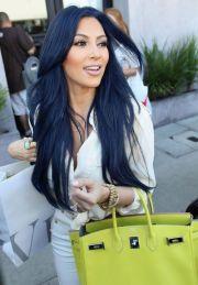 kim kardashian hair love