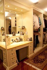 School House Lane Master Walk-In Closet ~ Make-Up Table ...