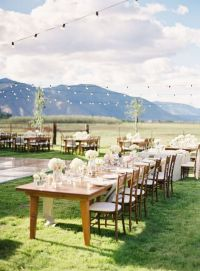 beautiful backyard wedding   a lovely wedding   Pinterest ...