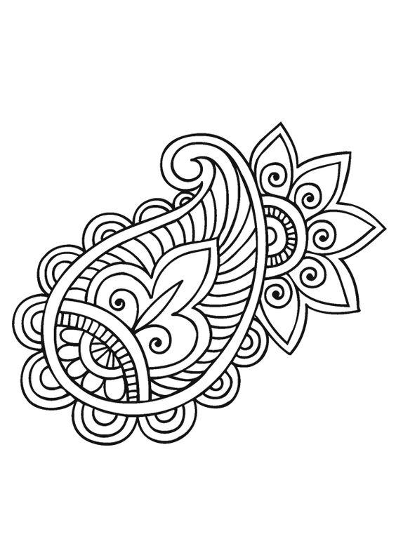Coloriage Mandala Rosace Sur Hugolescargot Com