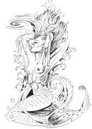 mermaid tattoo design tattoos