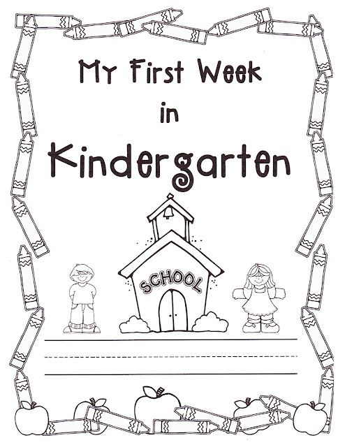 Teacher Bits and Bobs: first week of kindergarten great
