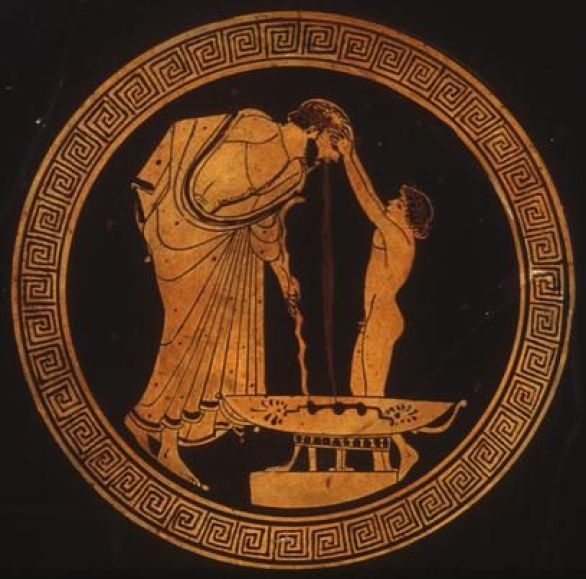 Image result for Ancient greek vomit vase