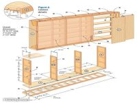 Cabinet plans, Garage cabinets and Garage on Pinterest