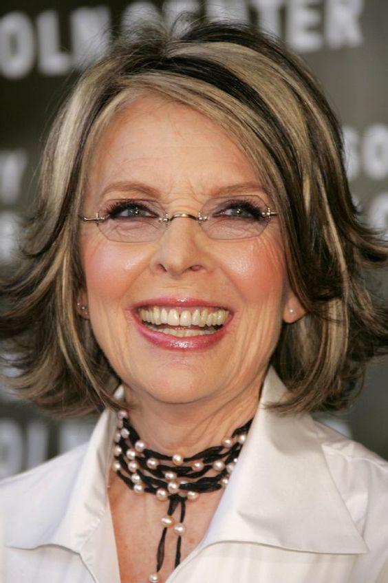 Diane Keatons Layer Haircut  Diane Keaton Hairstyle Pictures  Ideas  Pinterest  Hairstyles