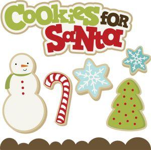 cookies santa svg