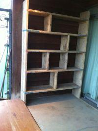 Scaffold book shelf | Make it! | Pinterest | Shelves, Book ...
