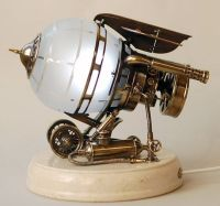 Steampunk ~ lamp   Science bedroom   Pinterest   Lampen ...