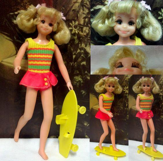 Vintage Barbie Living Fluff friend of Skipper cw OSS