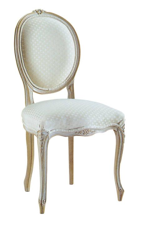 Louis XV oval back Dining Chair