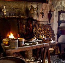 Cottage Medieval Kitchen