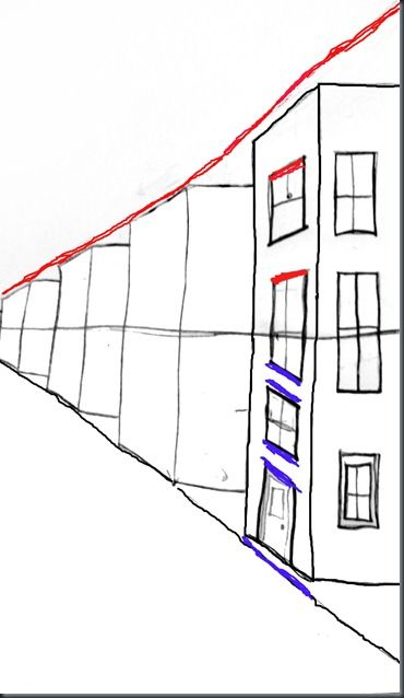 Perspective, One point perspective and Drawings on Pinterest