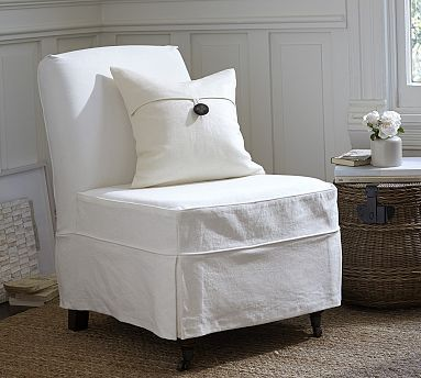 Slipper Chair Slipcover