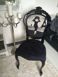 French Shabby Chic Chair .. Louis Style Boudoir | Ide ...