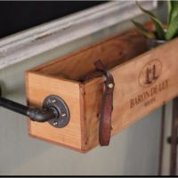 Repurposed wine box ideas | Craft & DIY | Pinterest ...