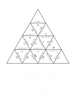 Order of operations, Team activities and Common cores on