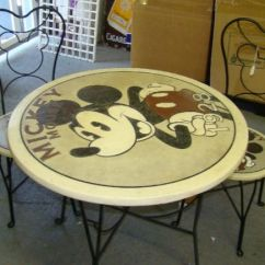 Mickey Mouse Chairs And Table Adjustable Stool Chair Bistro & | Disney Boys Pinterest Tables, Bistros ...